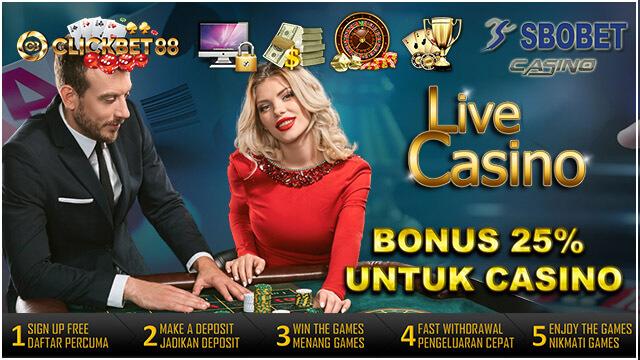 Bonus Sbobet Casino